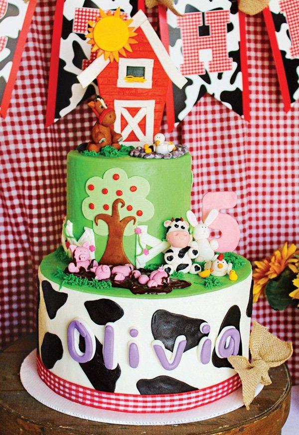 Sunny & Sweet Farm Animals Birthday Party // Hostess with the Mostess ...