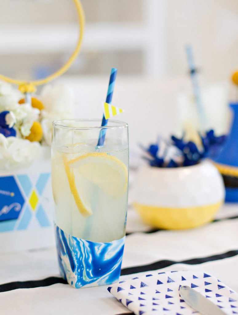 Bridal Shower Lemonade with Balloon Cups