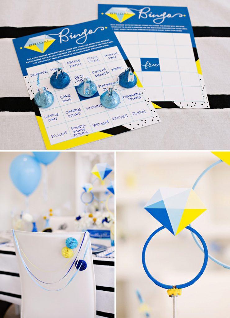 Free Printable Bridal Bingo