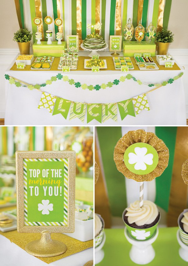 Top of the Morning St. Patrick's Day Brunch {+Free Printables!}