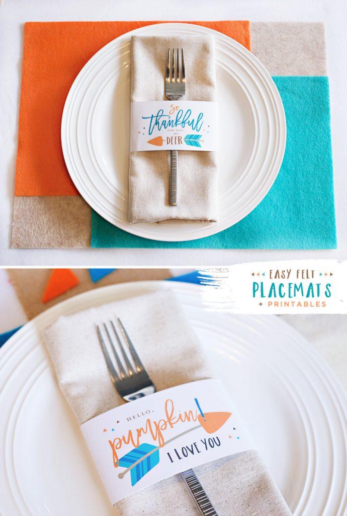 Free Thanksgiving Printables - Tribal Inspired