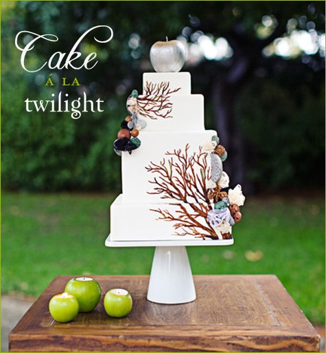 Twilight Inspired Wedding Part 2 Cake Drinks Bridal Bouquet Amp More Hostess With The MostessR
