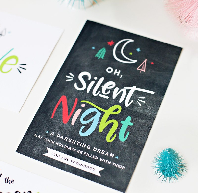 free printable funny card for parents