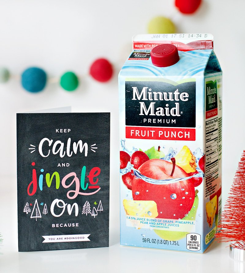 Minute Maid #doingood holiday campaign