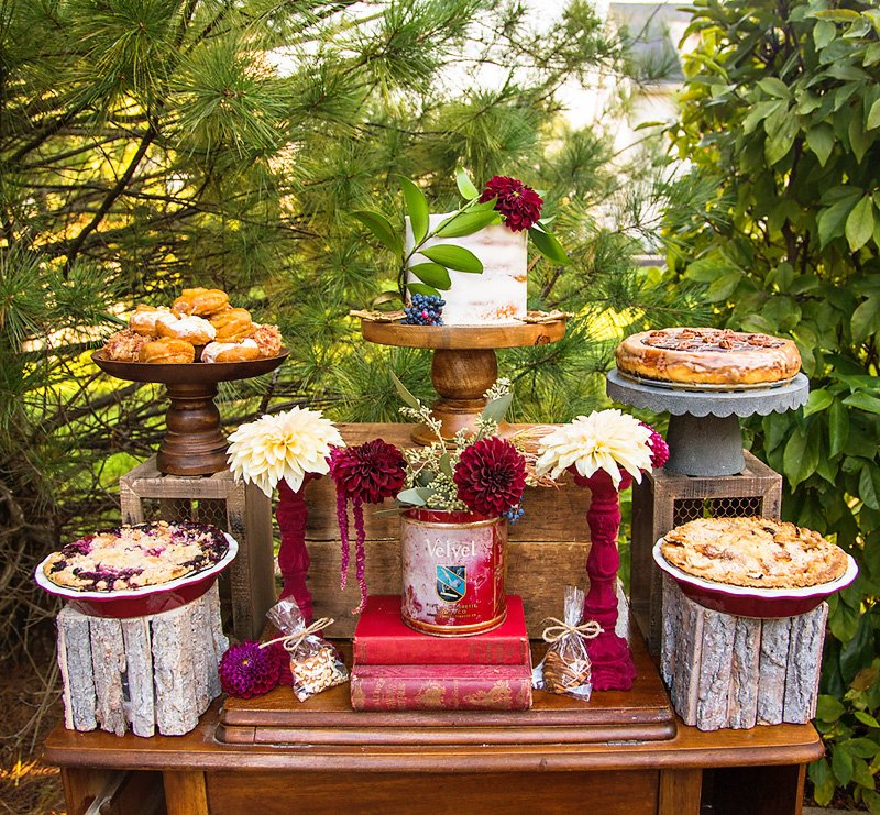 Rustic Glam Fall Dessert Table