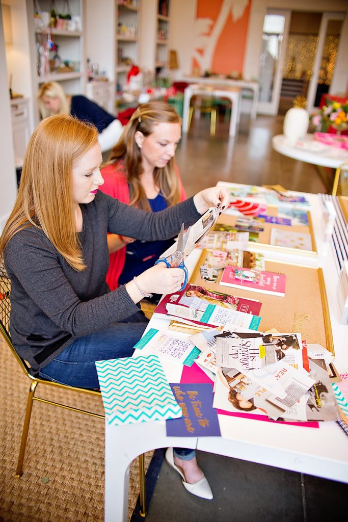 Dream Board Crafting Party