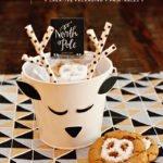 holiday cookie reindeer pails