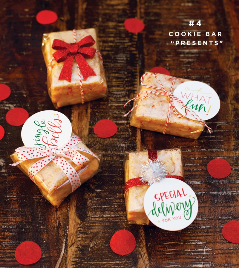 easy holiday cookie gifts
