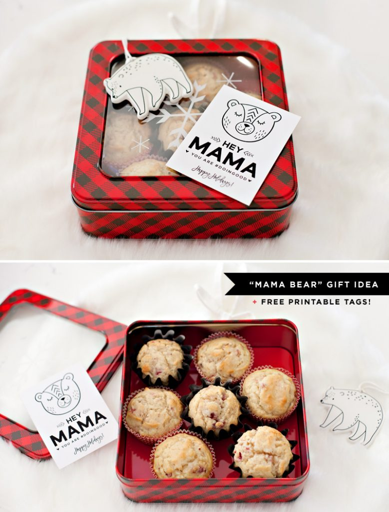 Homemade Holiday Gift Idea for Moms + Free Printables