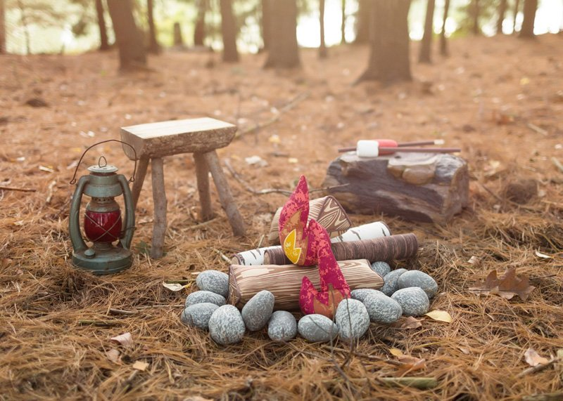 Land of Nod Campfire Toy Set