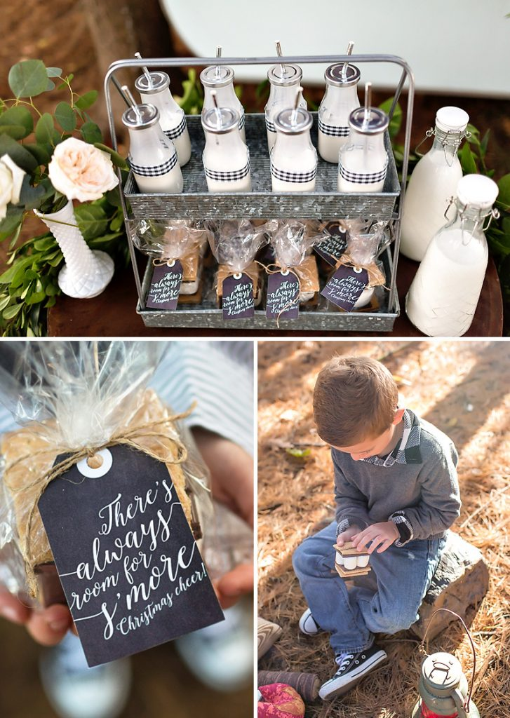 S'mores Christmas Favors
