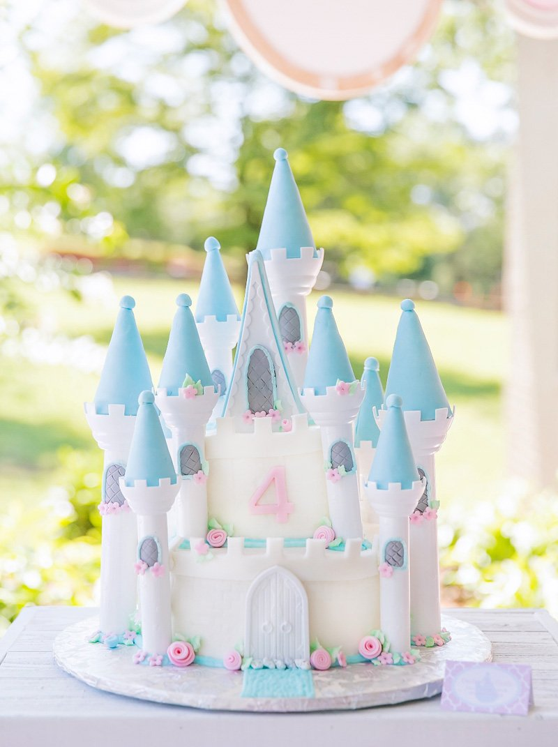 royal princess birthday party (pink & blue) // hostess with the