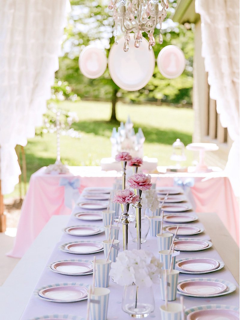 Cinderella Party Table Ideas
