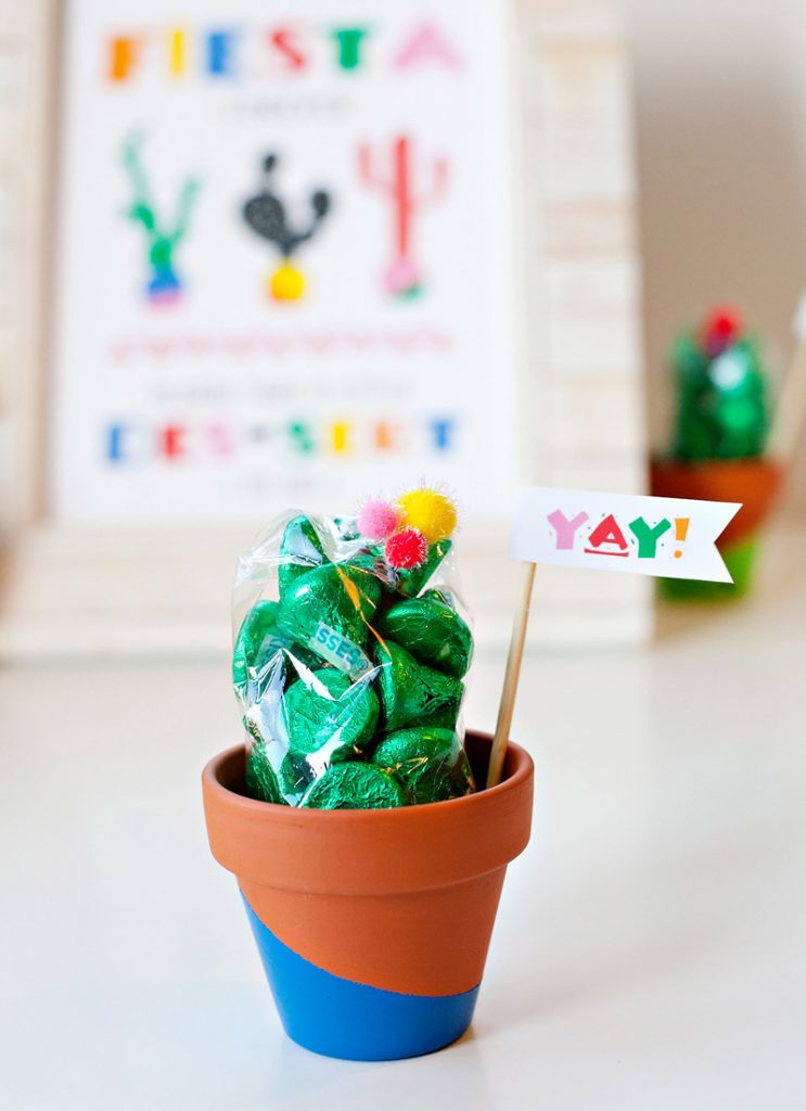 Fiesta Party Favor - Cactus
