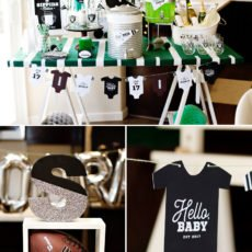 NFL football themed baby shower ideas
