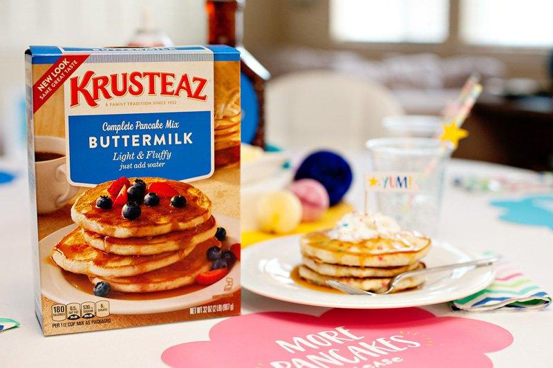 Krusteaz Funfetti Pancakes
