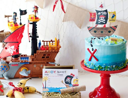 Playful & Modern Pirate Party Ideas