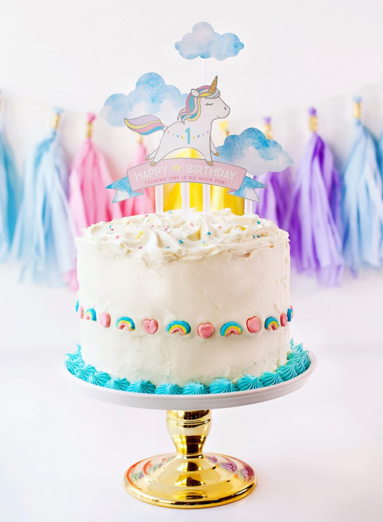 Simple & Sweet) Unicorn Birthday Party Ideas // Hostess with the