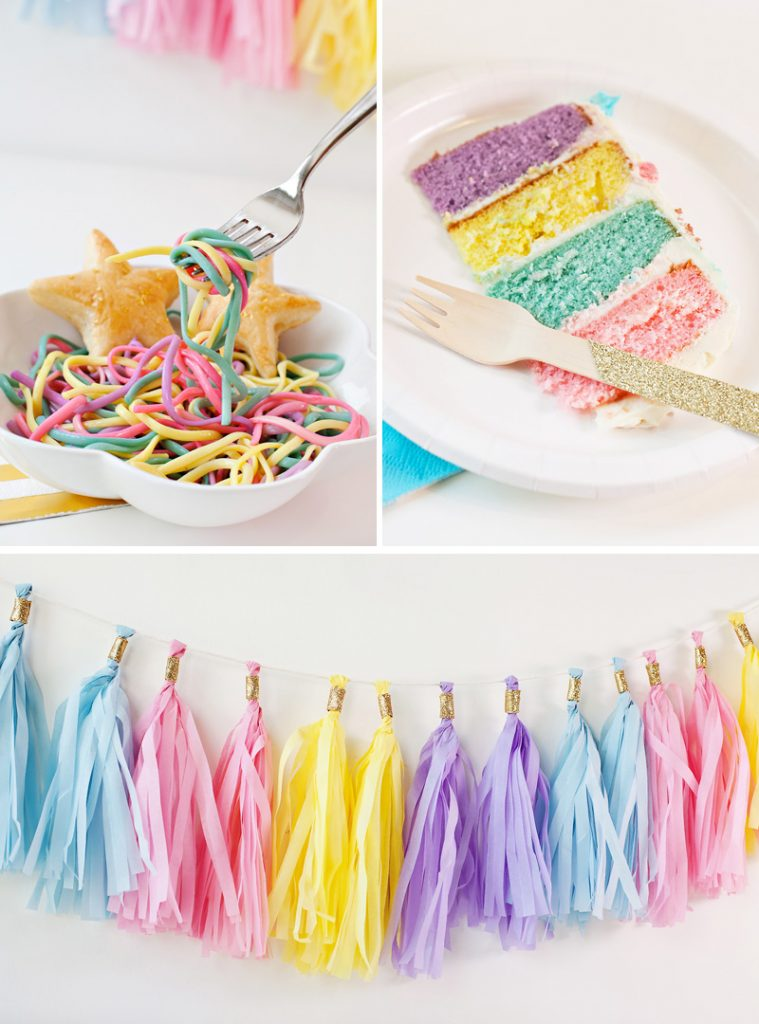 (Simple & Sweet) Unicorn Birthday Party Ideas // Hostess ...