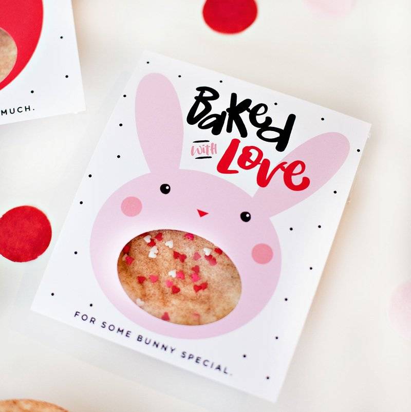 valentine cookie sleeves