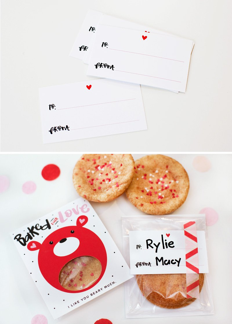 valentine's day cookie gift idea