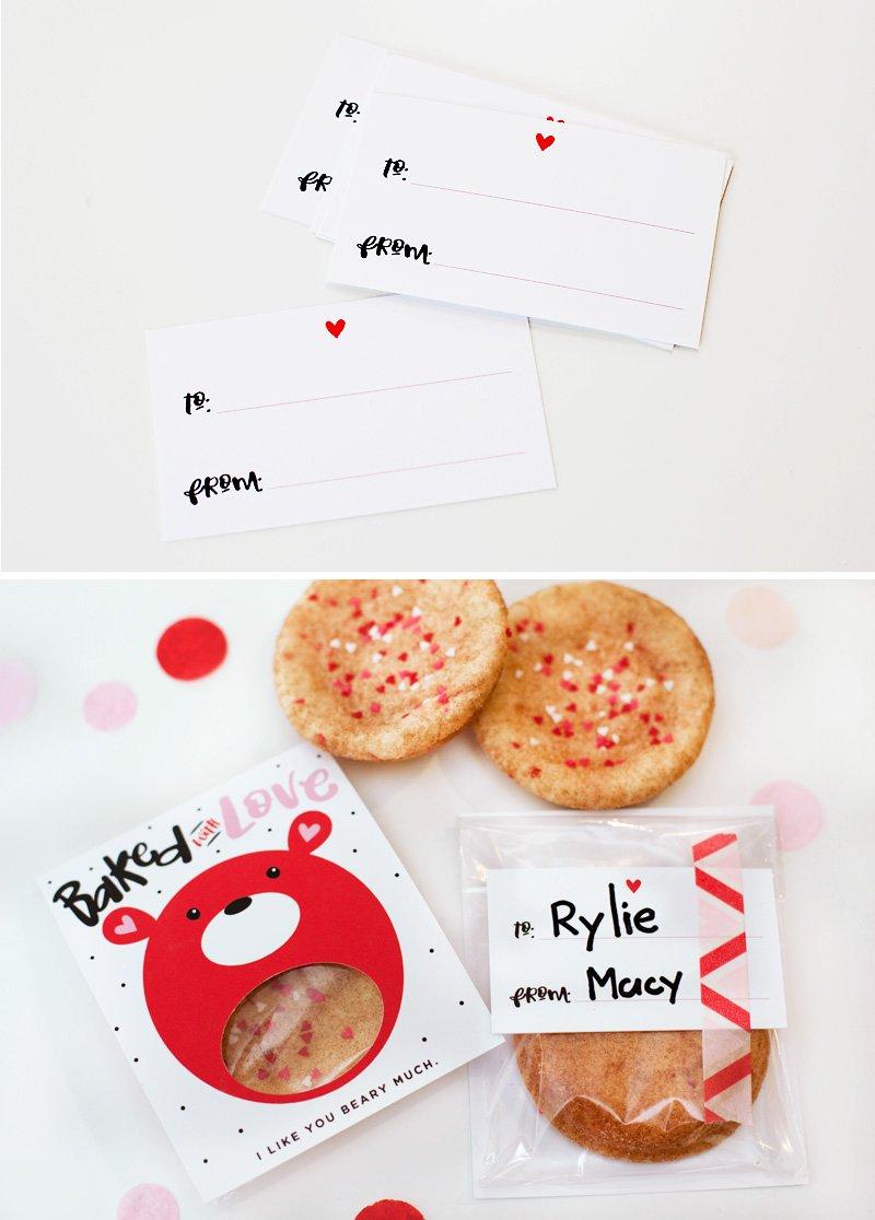 valentine's day cookie gift idea