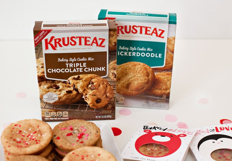 my favorite Krusteaz cookie mixes
