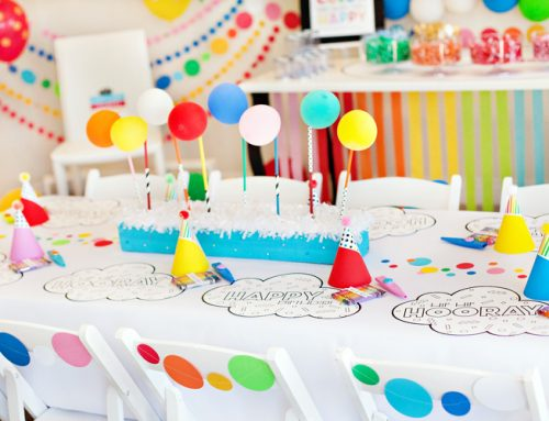 A Modern Rainbow Art Party (Kids Birthday)