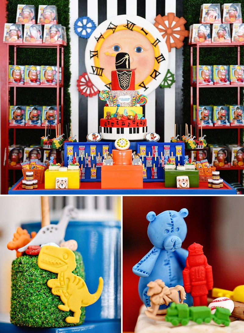 Toy Party Dessert Table