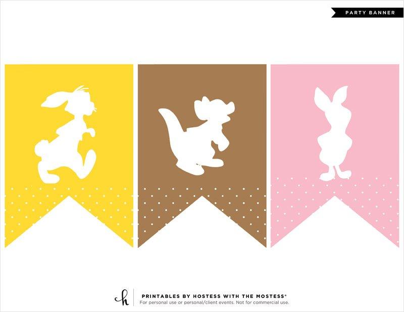 Winnie the Pooh Baby Shower Banner - 2