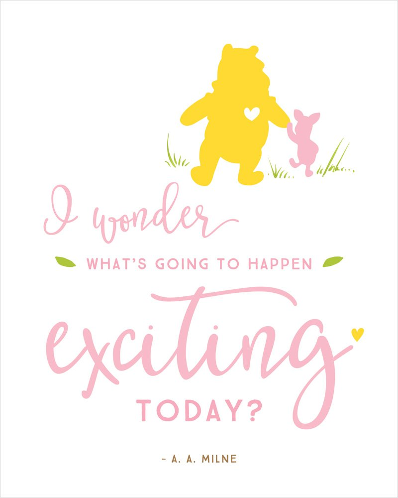 Baby Shower Quotes: Winnie The Pooh Baby Shower Printables & Quotes