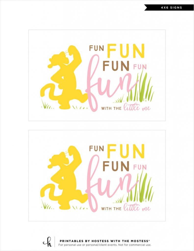 winnie the pooh printables - fun fun fun