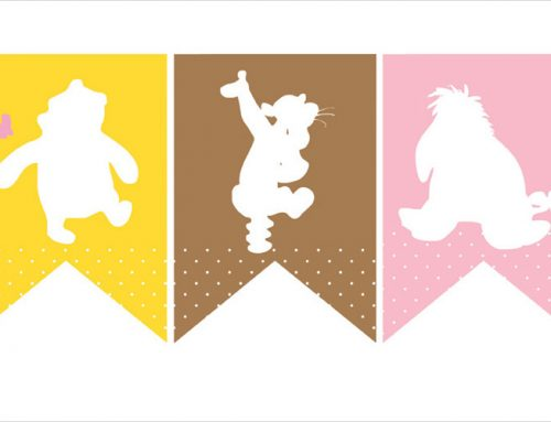 Winnie the Pooh Baby Shower Printables – Pink & Yellow