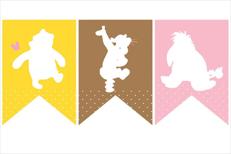 Winnie the Pooh Baby Shower Printables & Quotes – Pink & Yellow