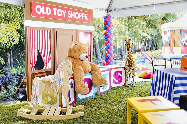 World of Toys Birthday Party (FAO Schwarz Inspired)