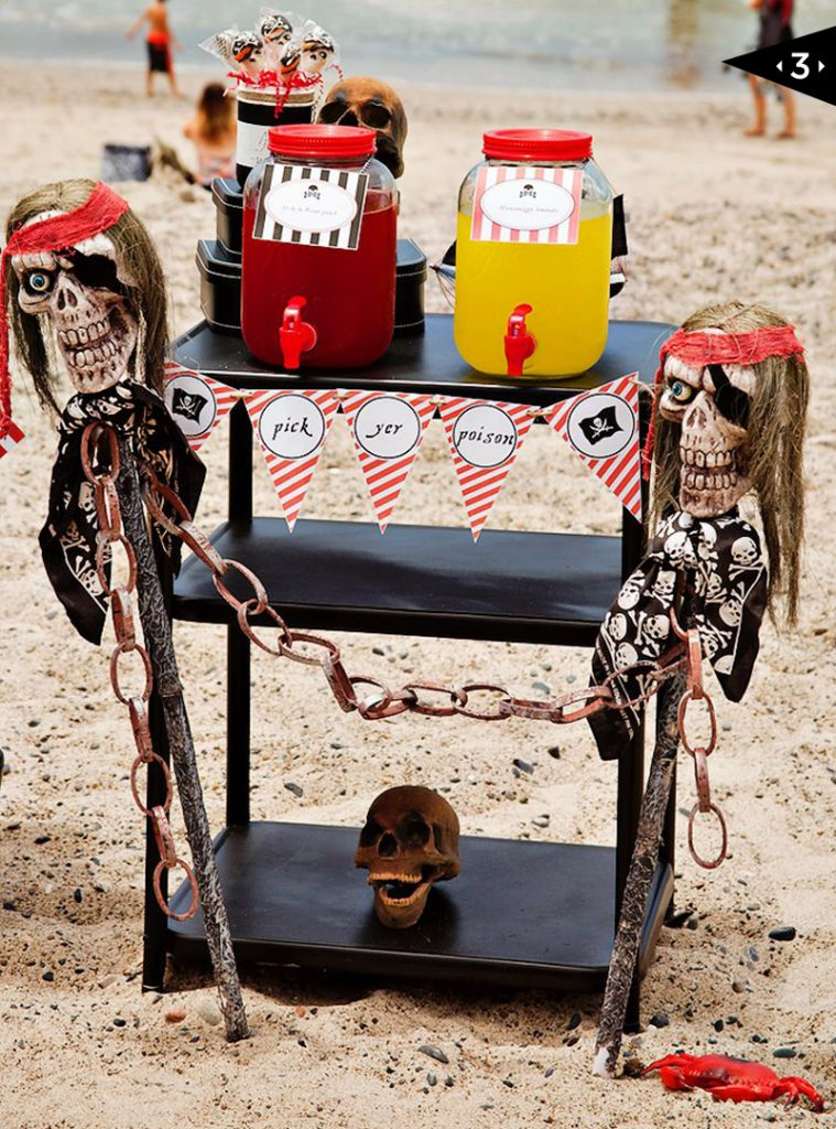 Spectacular Pirate Party On The Beach Hostess With The