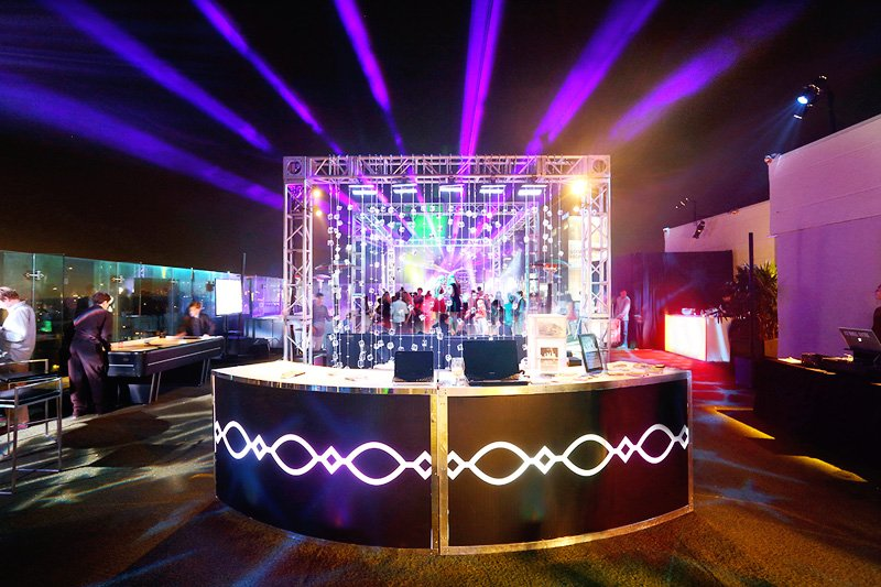 light up bar rental