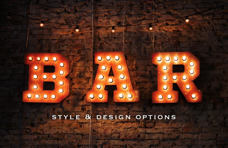 marquee light bar sign