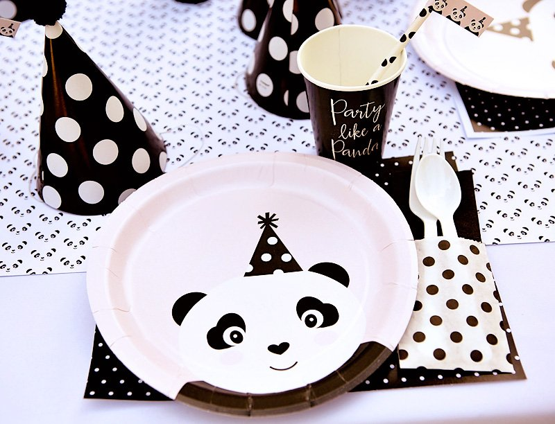 panda party supplies