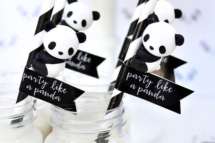 Playful Quot Party Like A Panda Quot Birthday Party Hostess