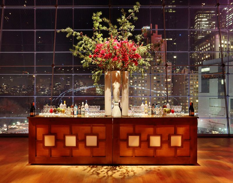 wood panel bar rental