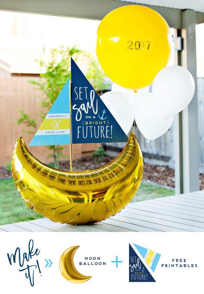 set sail graduation party theme