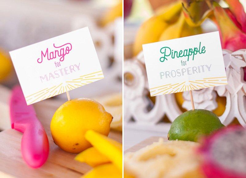 Fruit Bar Food Labels