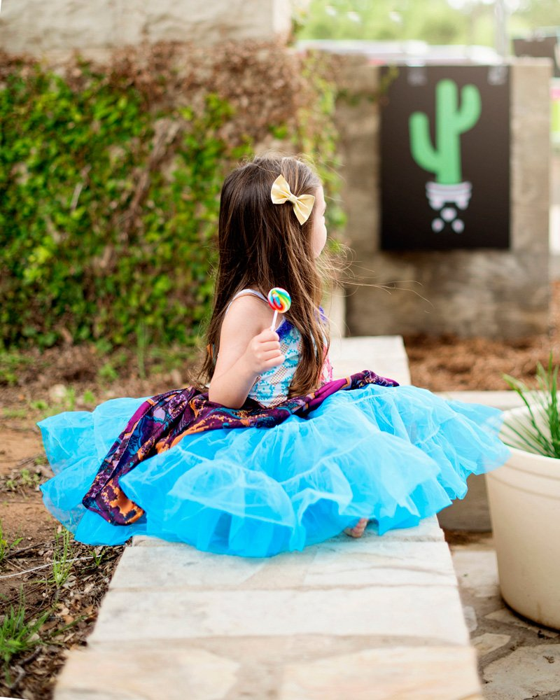 Vintage Girls Dress - Fiesta