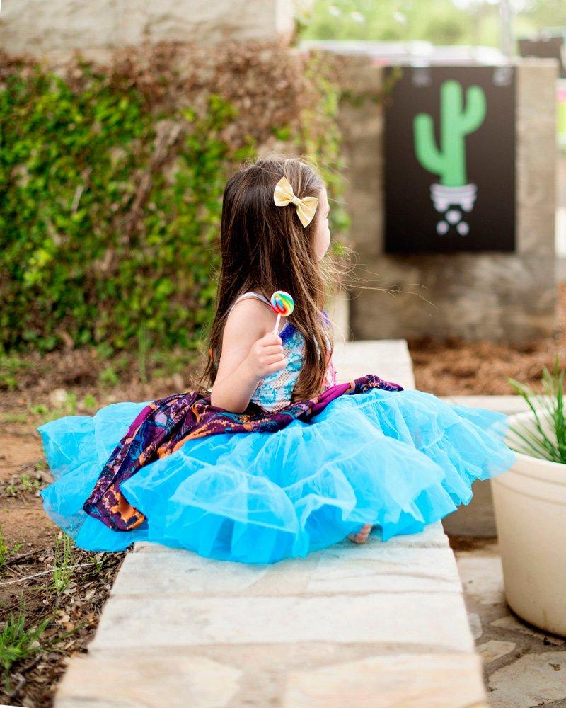 Vintage Girls Dress - Fiesta