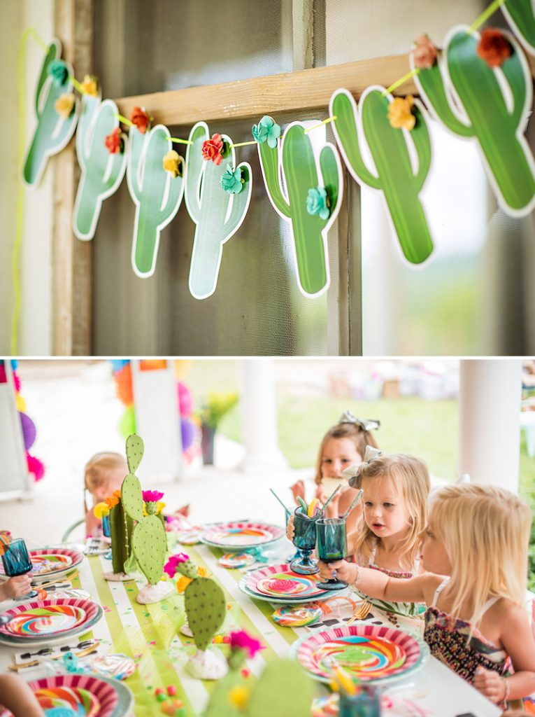 Cactus Kids Party