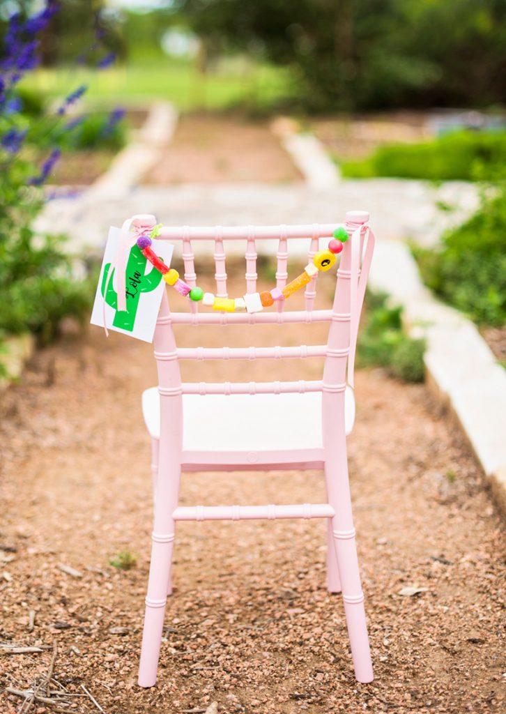 Candy Chair Garlands