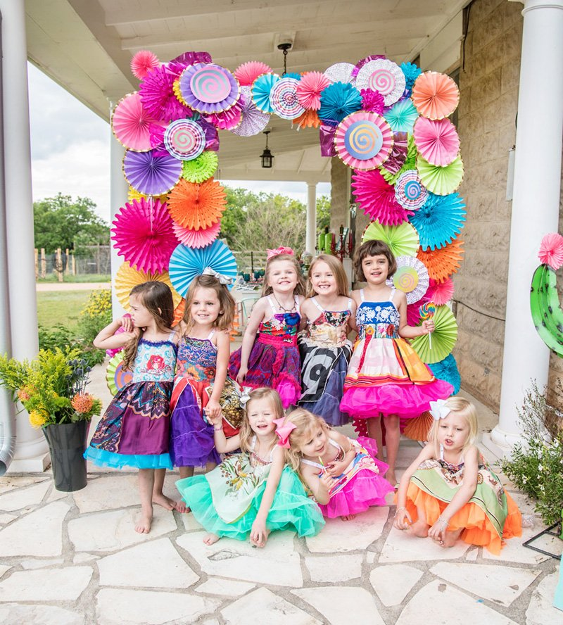 Rainbow Fiesta Party Photo Booth