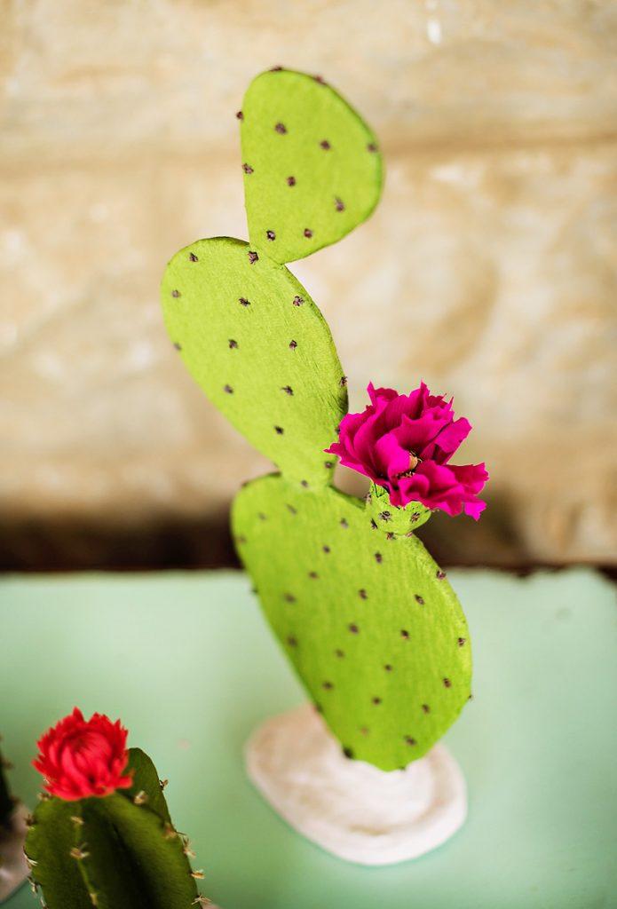 Handmade Paper Cactus Decorations