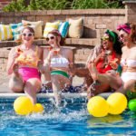 Vintage Cabana Pool Party